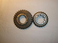 LAND ROVER EARLY SERIES GEARBOX 2ND GEAR SET MAIN AND LAYSHAFT GEAR P NO 245766