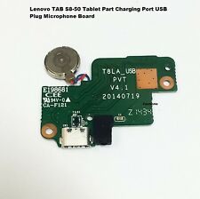 "Lenovo Ideapad S8-50 8"" Wifi Micro USB Charging Port Board Flex T8LA_USB"