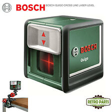 Bosch Quigo Cross Line Laser Level Self Leveling DIY Horizontal Vertical Lines