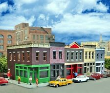 "N SCALE: FINALLY!! ""MERCHANT'S ROW I"" by Walthers Cornerstone - Kit #933-3850"