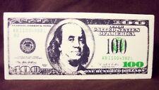 ***$100 BILL***STRESS BALL*** reliever currency U.S. money cash Benjamin Frankin