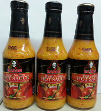 3 x Baron West Indian Hot Sauce.14 oz. (St. Lucia)