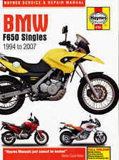 Bmw F650 CS FL GS Haynes Manual Repair Manual Workshop Manual 2000-2007