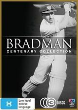 Bradman Centenary Collection..CRICKET..3 X DISCS..BOX SET..REG 4...NEW & SEALED