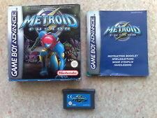 Metroid Fusion pour Game Boy Advance (GBA) et DS - Complet (Boîte et Notice) - 2