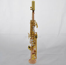 Professional sopranino sax Rose brass Eb Sax Low B to High E saxophone with case