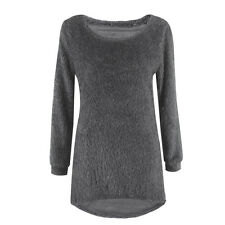 Women Long Sleeve Loose Cardigan Knitted Sweater Pullover Knitwear Outwear Coats