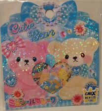 Crux Cutie Bear Kawaii Stickers Sack sticker flakes stationery penpals
