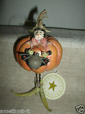 PATIENCE BREWSTER KRINKLES PUMPKIN BAT SISTER BLACK CAT HALLOWEEN HANGER FIGURE