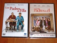LOS PADRES DE ELLA + LOS PADRES DE EL - Meet the Parents +  Meet the Fockers pre