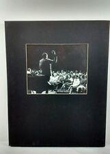 Duke Ellington Art Photo Signed Ed Wingenroth Vintage Mid Century