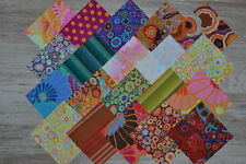 lot de 20 coupons de tissu patchwork Kaffe Fassett