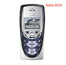 Nokia 8310 - Dark Blue (Factory Unlocked!) Classic Retro Cellular Phone