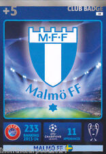 2014/15 Adrenalyn Xl Champions League Malmo FF Tarjeta n ° 18