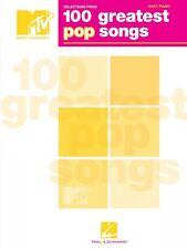 Selections from MTV's 100 Greatest Pop Songs Sheet Music Easy Piano So 000311751