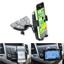 For Mobile Smart Cell Phone GPS 360 Car Auto CD Slot Mount Cradle Holder Stand