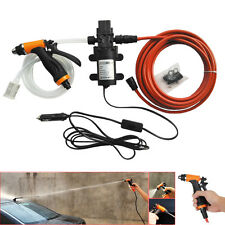 New High Pressure Self-priming Electric Car Wash Water Pump 12V 60W Washer Set