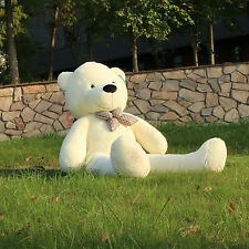 "Joyfay®  63"" 160 cm White Giant Teddy Bear Big Huge Stuffed Toy Christmas Gift"