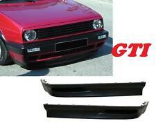 RAJOUT DE PARE-CHOC AVANT LOOK GTI VW GOLF 2 GL S GTI 16S G60 1.3 1.5 1.6