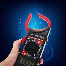 Digital Voltmeter Ammeter Multimeter Ohmmeter Volt AC DC Tester Clamp Meter New