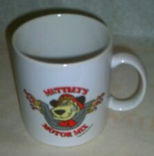 "Vtg Hanna Barbera - Muttley's Motor Mix 20oz Oversized Coffee Cup Mug 4.25""Tall"