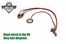 T3 Guitar Piezo Pickup Jack Socket + Volume control harness Cigar Box Guitar CBG