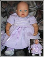 "Machine Knit patterns for Annabell & 18/20"" dolls ""Heidi""  MK349 Frandor Formats"
