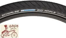 "SCHWALBE BIG APPLE 26"" X 2.0"" BLACK WIRE BEAD TIRE W/ REFLECTIVE SIDEWALL"