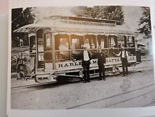 1885 3rd Ave. TARS on 10 Ave. NEW YORK CITY NYC Cable Trolley Photo