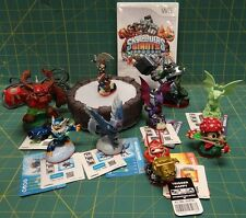 Skylanders Giants Game/9 Figure Lot Nintendo Wii with Portal of Power, Cards