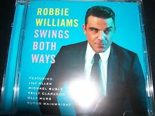 Robbie Williams Swing / Swings Both Ways (Australia) CD - Like New
