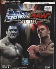 Smack Down Vs Raw 2006 Bradygames Series Guide EX 112315DBE2
