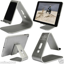 HOT Noble Aluminum Desktop Holder Table Stand Cradle Mount For Cell Phone Tablet