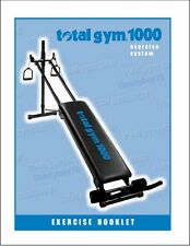 Total Gym 1000 Exercise Booklet - 200+ Photos - Works on EVERY Total Gyms