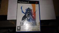 jeu PS2 final fantasy XII avec livret , bel etat