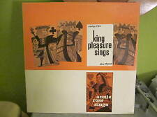 KING PLEASURE SINGS JAZZ LP PRESTIGE 7128 CHARLIE PARKER STAN GETZ ART BLAKEY