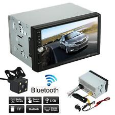 Doble 2 Din Radio De Coche MP5 MP3 Reproductor De Radio Bluetooth USB AUXILIAR
