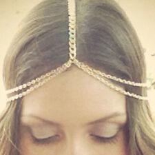 Women Fashion Bohemian Style Tassel Head Chain Hair Band Headpiece Nice Jewelry