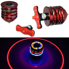 Spinning Top Gyro Colored LED Flash Light Laser Music Kids Party Fun Toy Gift