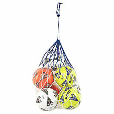 Il Calcio Netball rugbyball Pallamano BASKET 10 BALL CARRY NET BIANCO