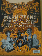 Razorcake Punk Magazine #62  - Mean Jeans; Too Many Daves; Robert Scott