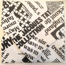 NEWSPAPER PRINT SANDWICH LUNCH SNACK BAG / WRAP ~ REUSABLE