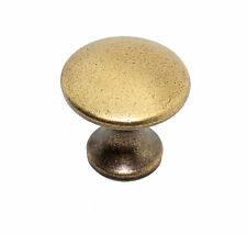 Antique Aged Bronze Brass Cabinet Cupboard Dresser Drawer Door Knob Pull