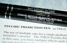 Psychic Prediction Pen --five impromptu predictions in your pocket!       TMGS