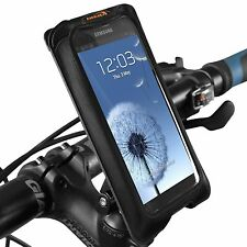 Ibera Bike Black Smartphone Case Spring-Loaded Adjustable Stem Mount NEW 12Q5-BK