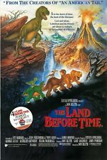 The Land Before Time movie poster - Dinosaurs - 11 x 16.5 inches