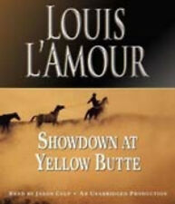 Louis L'Amour SHOWDOWN AT YELLOW BUTTE Unabridged CD *NEW* 1st Class Ship!