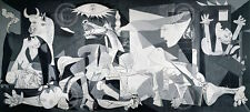 Pablo Picasso Guernica 1937 Black and White Figurative Animal Print Poster 11x14