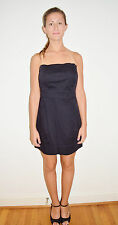 GUESS Black Strapless Body Con Wiggle Cocktail Club Dress Size 11