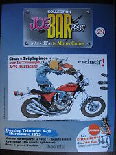 FASCICULE SERIE 2 JOE BAR TEAM 29 TRIUMPH TRIDENT X75 HURRICANE / SPEED TRIPLE